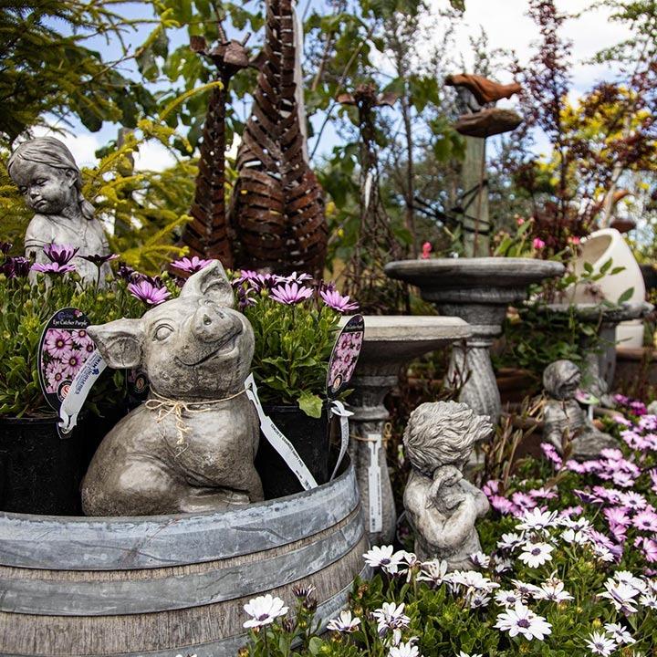 blueskin nurseries garden art